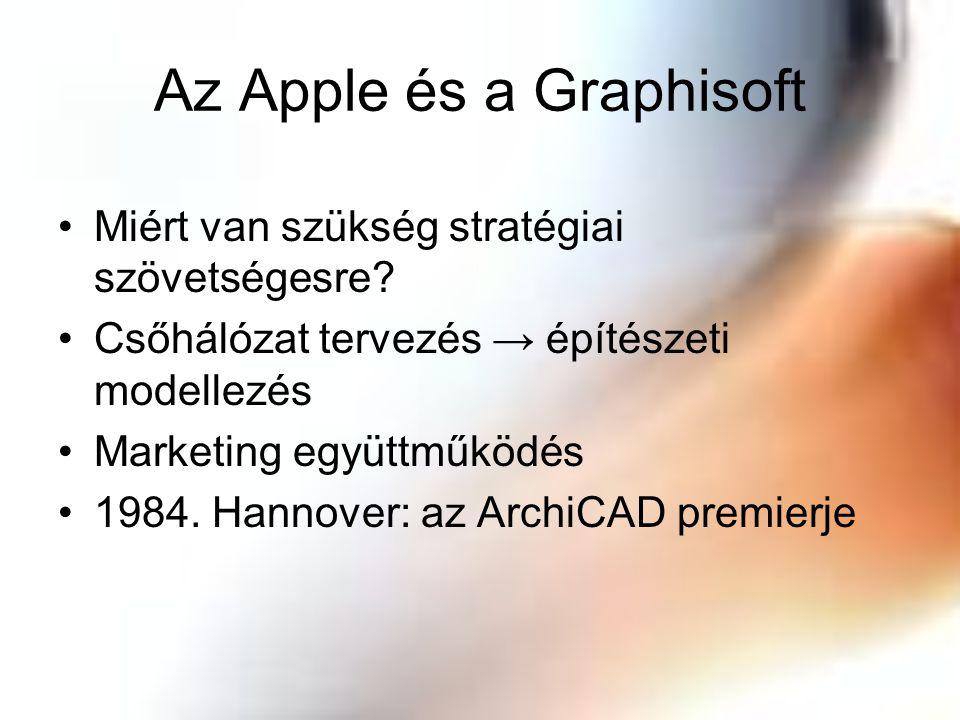 Az Apple és a Graphisoft