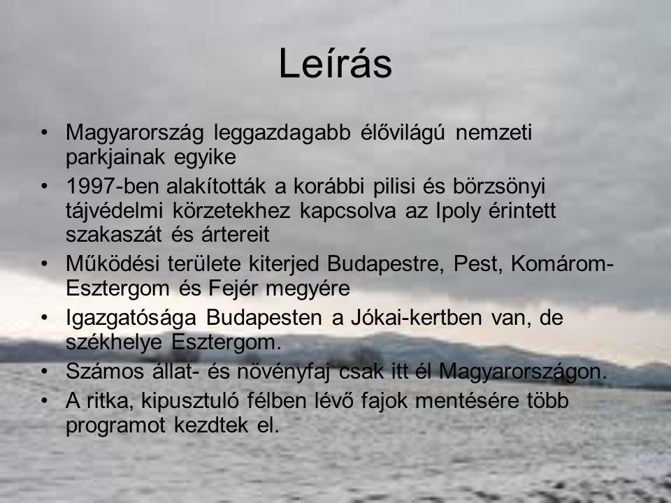 Leírás Magyarország leggazdagabb élővilágú nemzeti parkjainak egyike