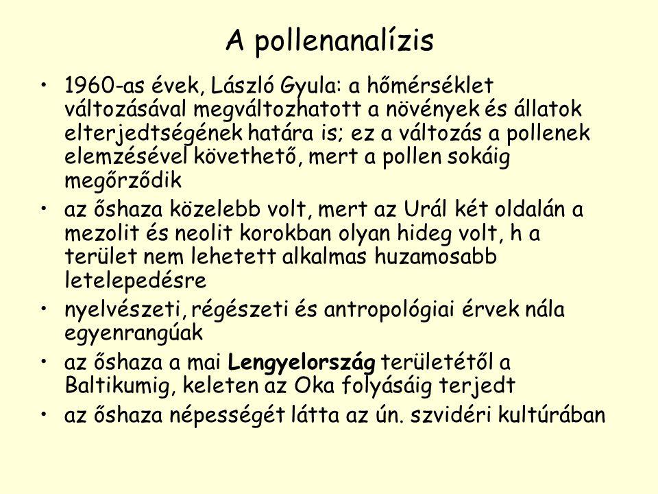 A pollenanalízis