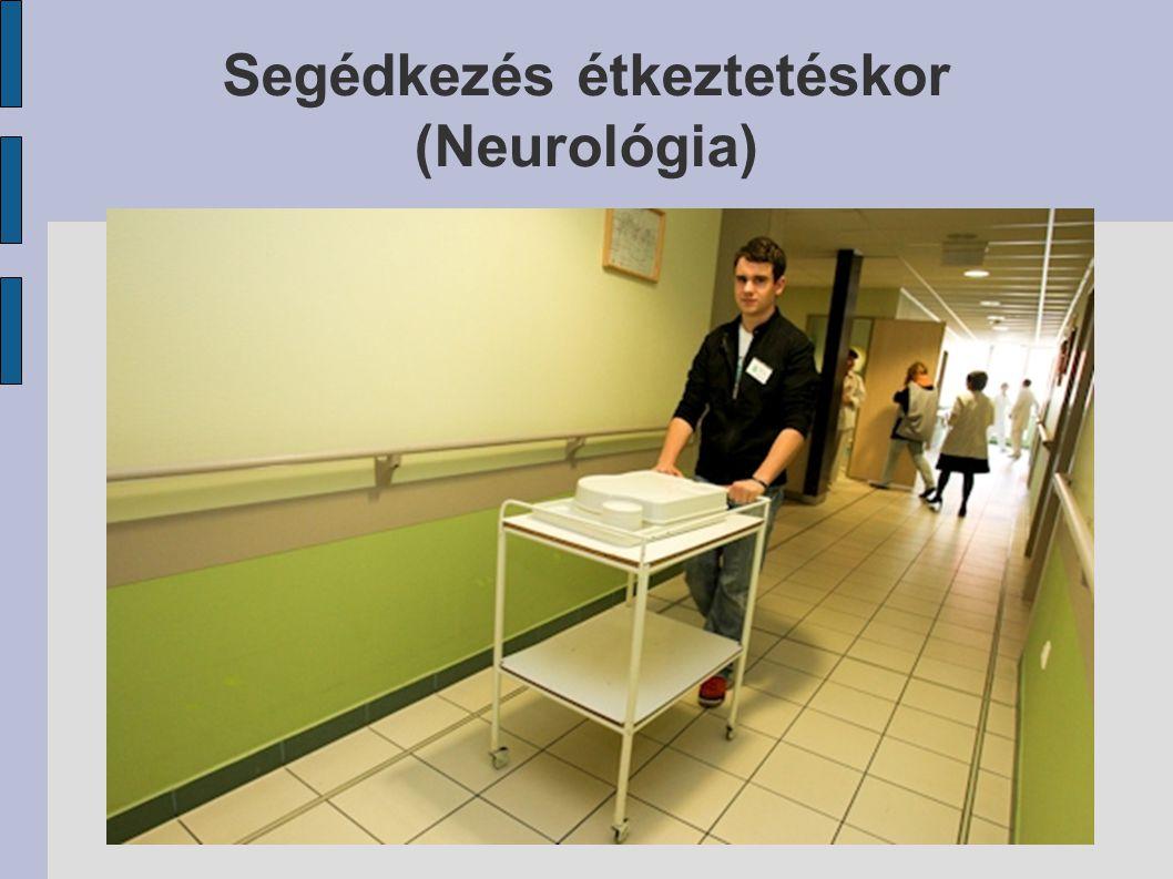 Segédkezés étkeztetéskor (Neurológia)