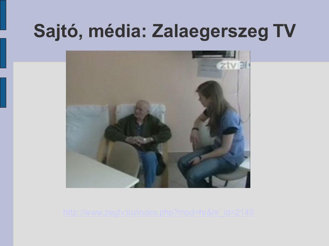 Sajtó, média: Zalaegerszeg TV