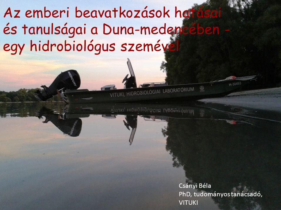 Az emberi beavatkozások hatásai és tanulságai a Duna-medencében - egy hidrobiológus szemével