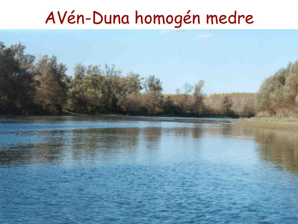 AVén-Duna homogén medre