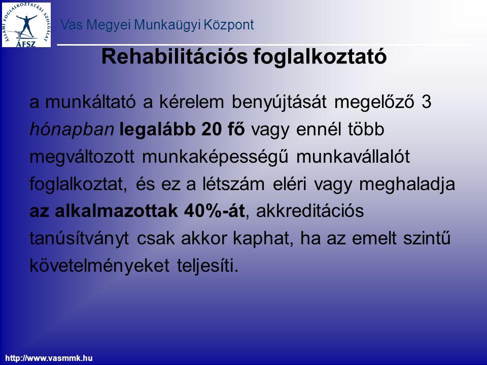 Rehabilitációs foglalkoztató
