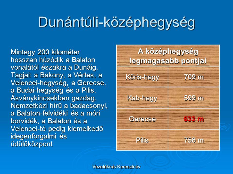 Dunántúli-középhegység