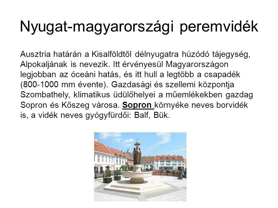 Nyugat-magyarországi peremvidék