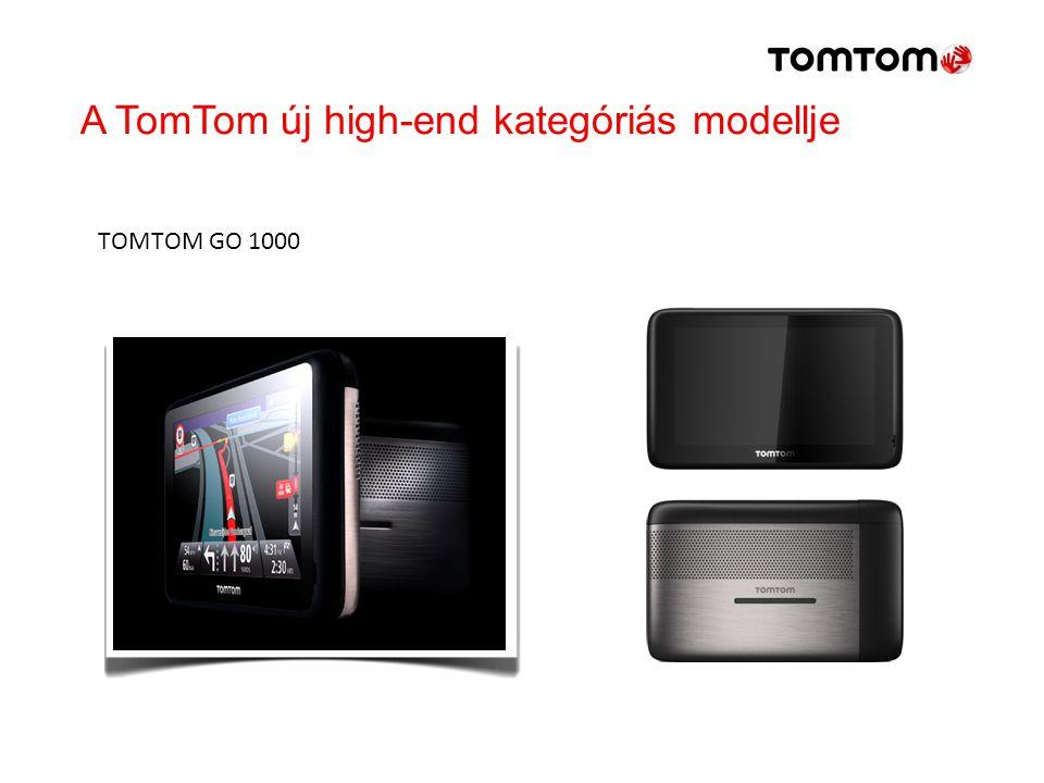 A TomTom új high-end kategóriás modellje