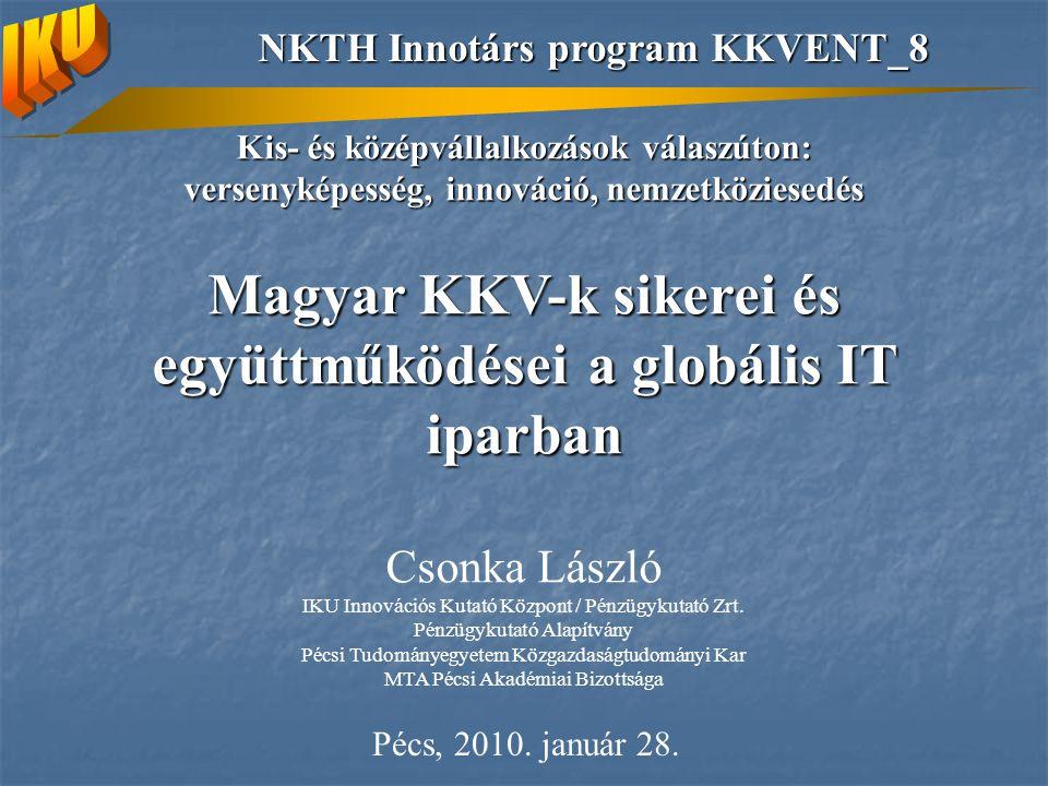 Magyar KKV-k sikerei és együttműködései a globális IT iparban