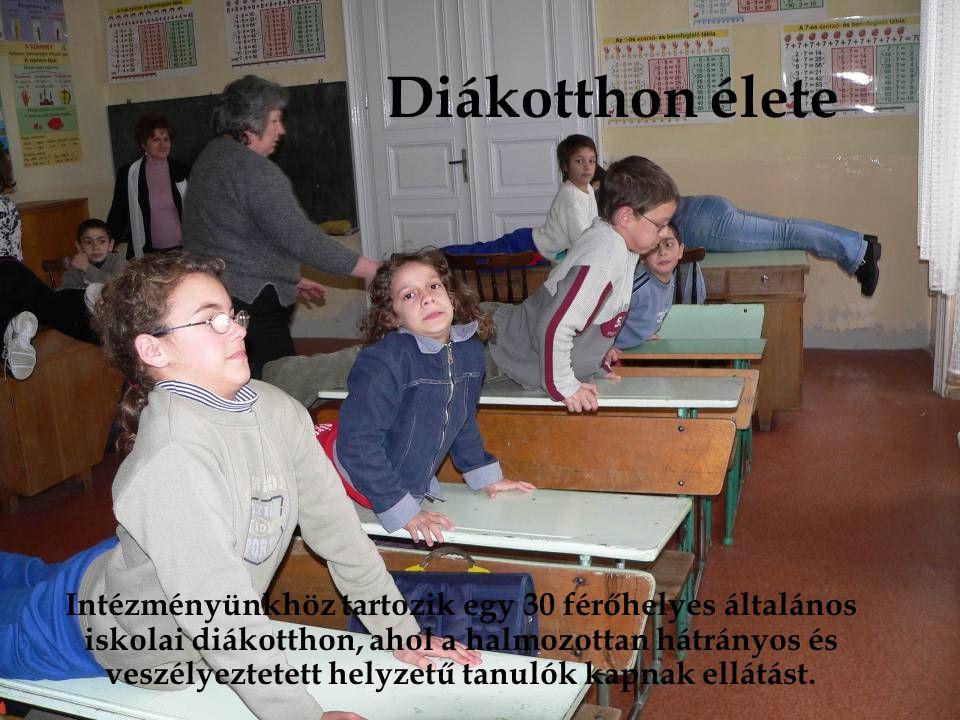 Diákotthon élete