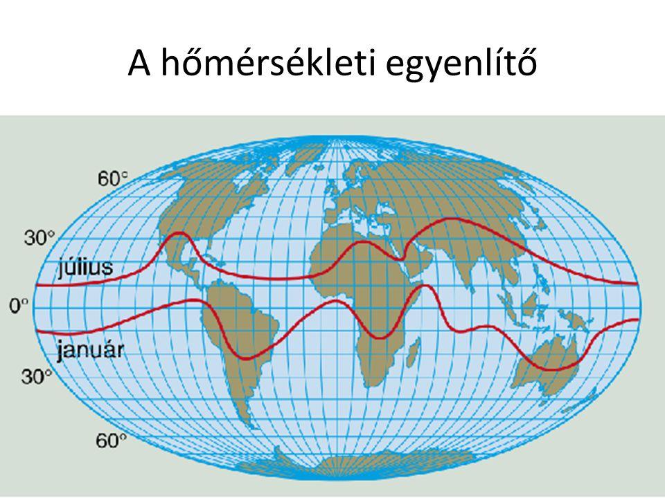 A hőmérsékleti egyenlítő