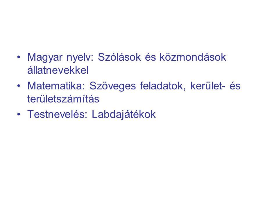 Magyar nyelv: Szólások és közmondások állatnevekkel