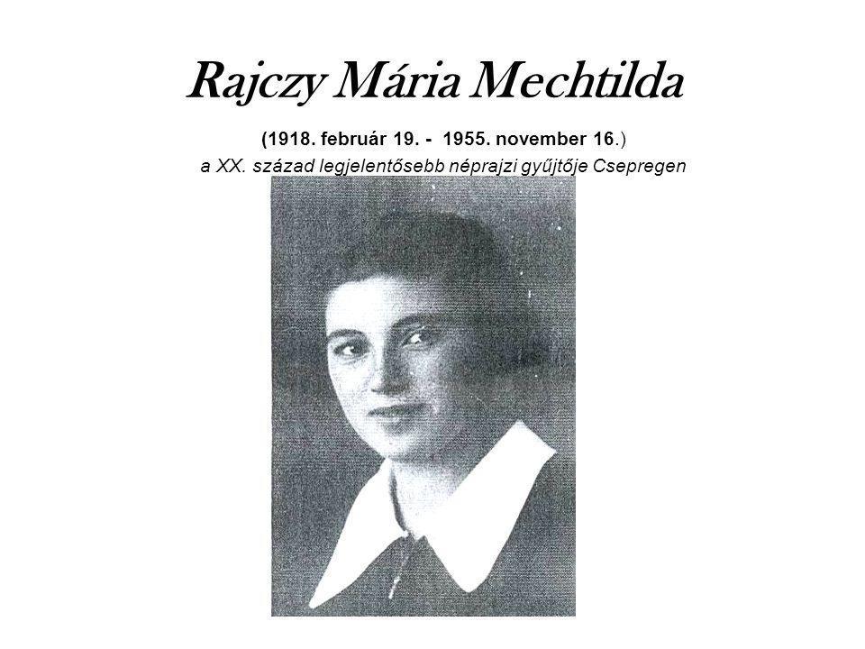 Rajczy Mária Mechtilda