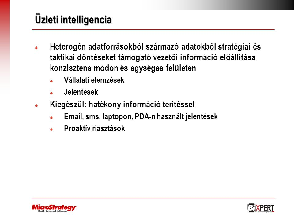 Üzleti intelligencia