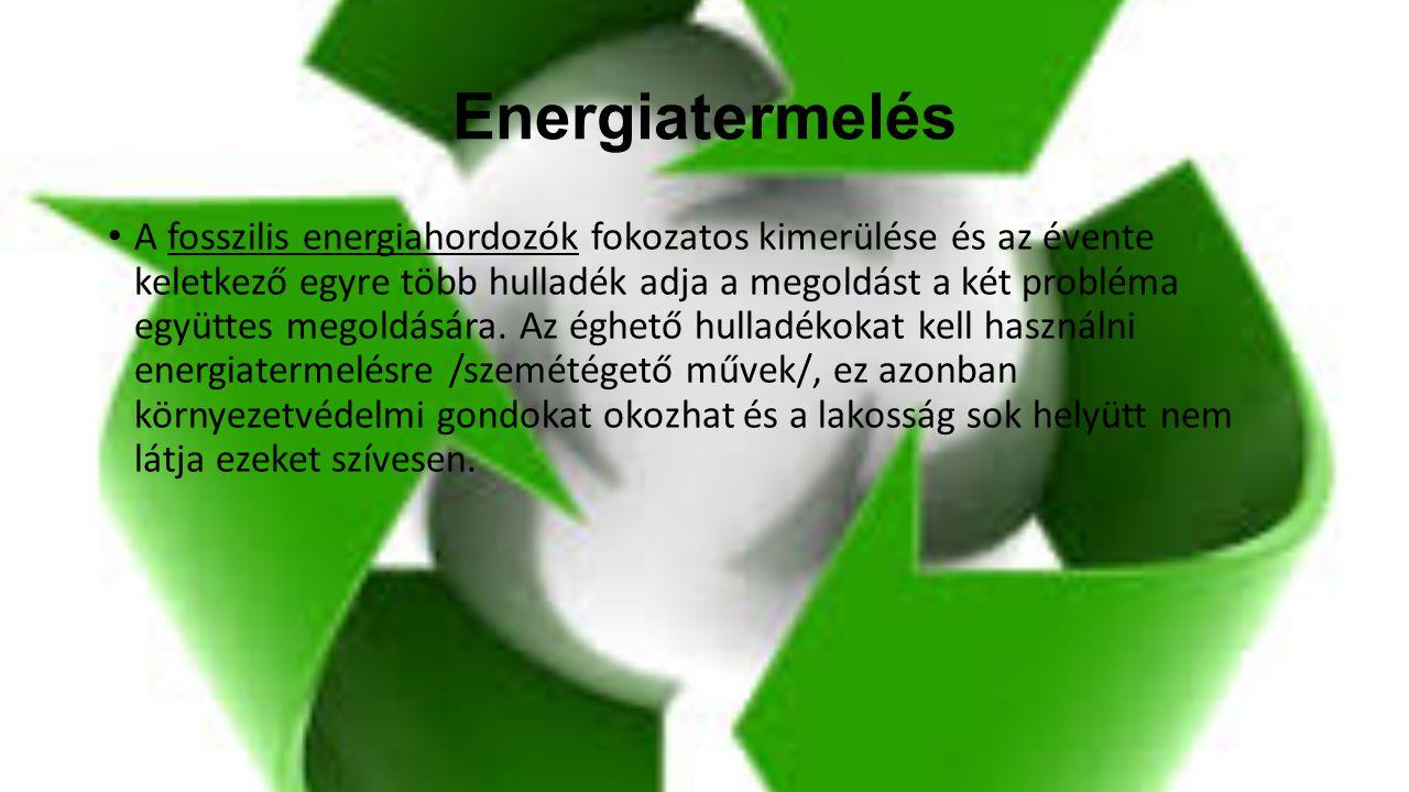 Energiatermelés