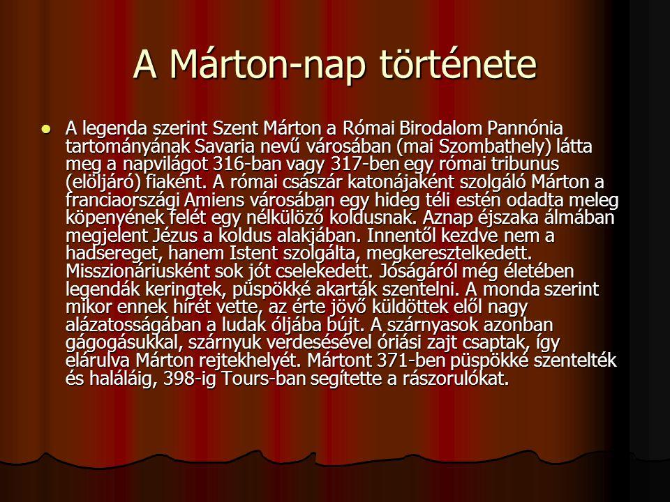 A Márton-nap története