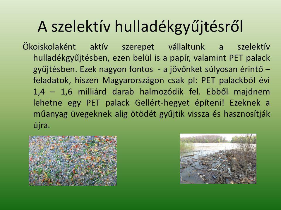 A szelektív hulladékgyűjtésről
