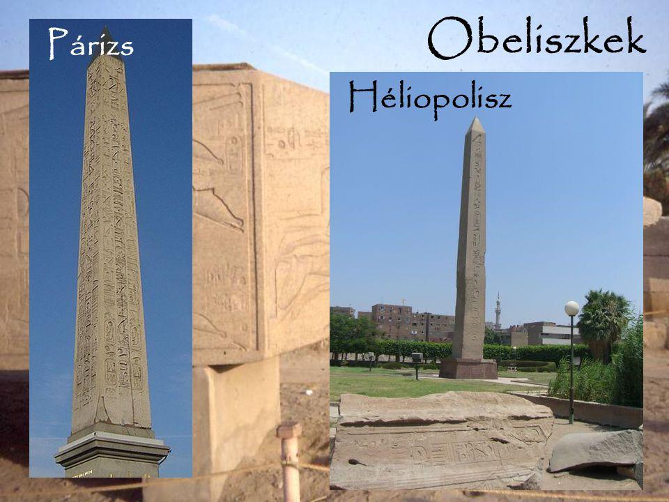 Obeliszkek Párizs Héliopolisz Párizs