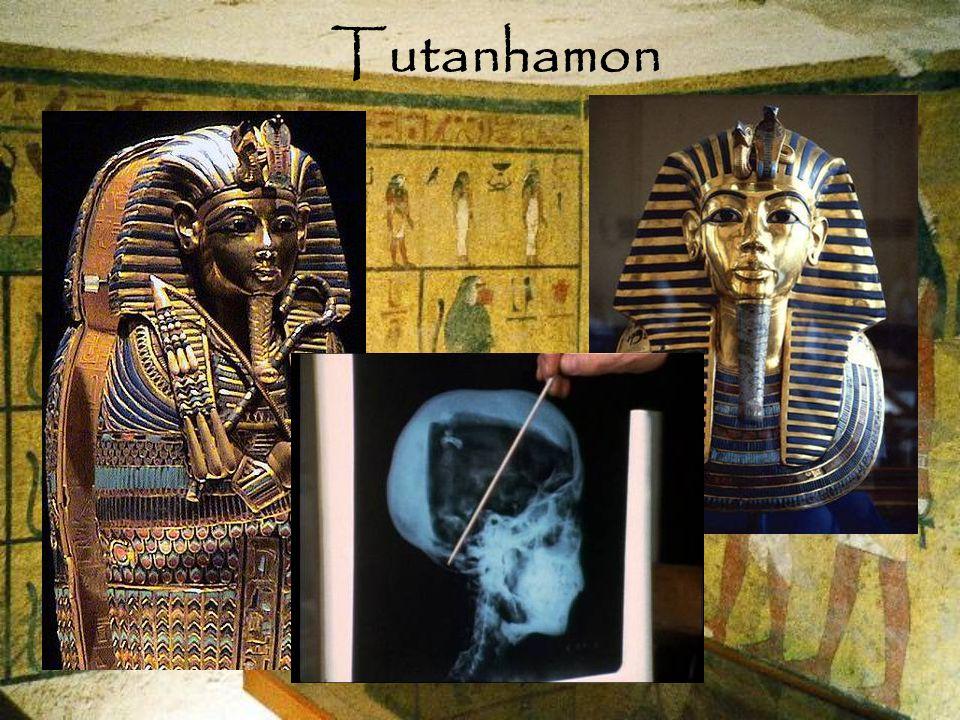 Tutanhamon hieroglifák