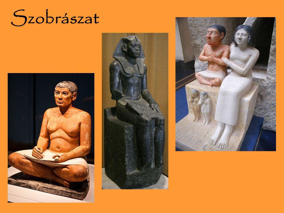 Szobrászat Szphinx, szobrok