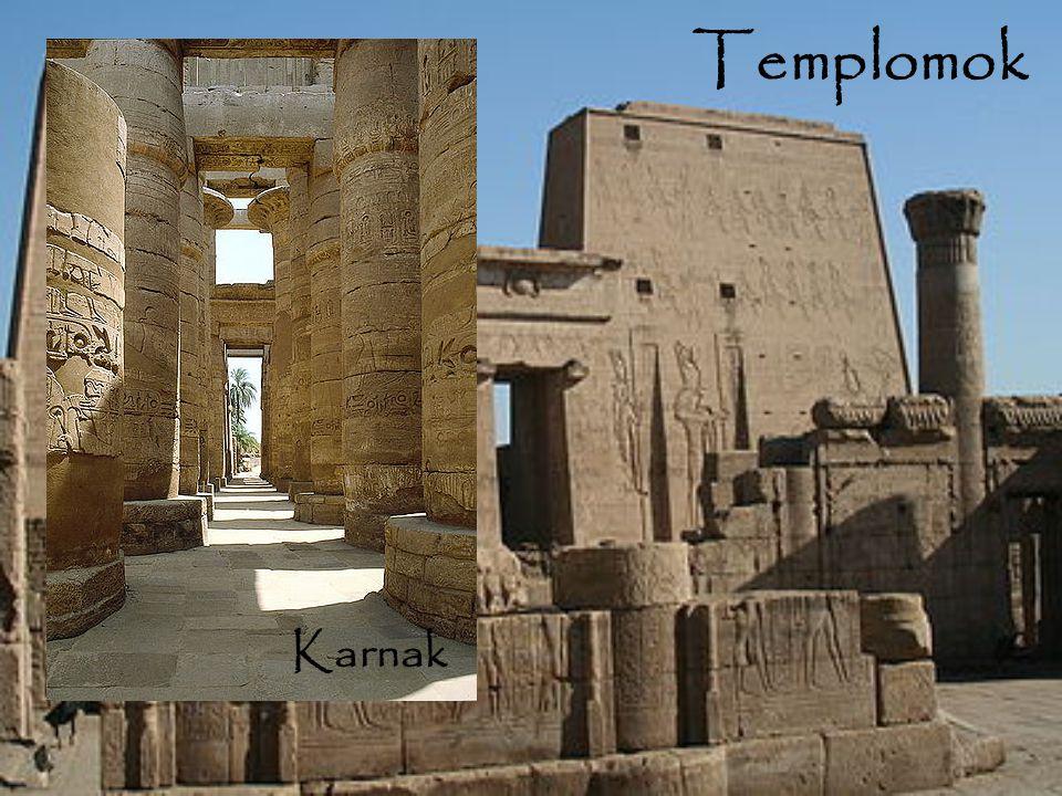 Templomok Karnak Karnak