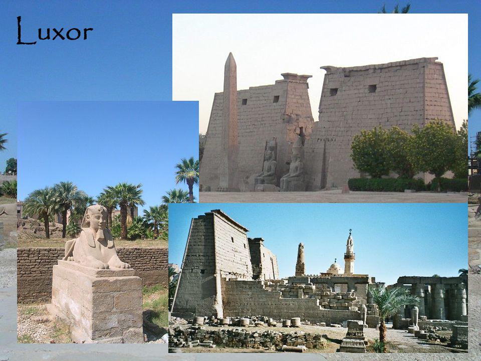 Luxor hieroglifák