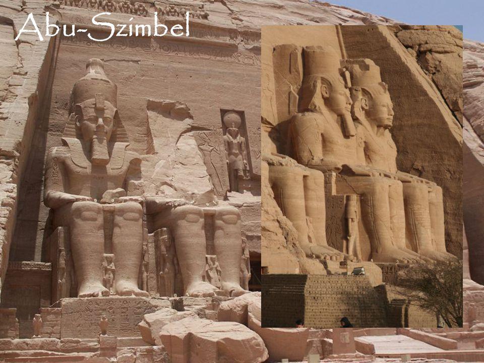 Abu-Szimbel hieroglifák