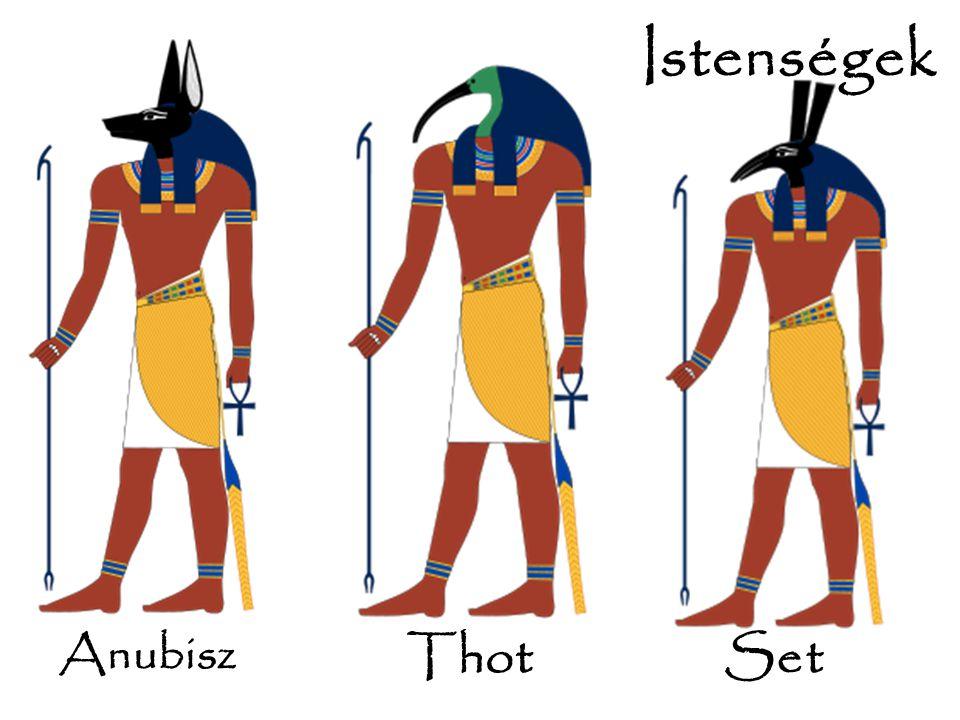 Istenségek Set Anubisz Thot Set