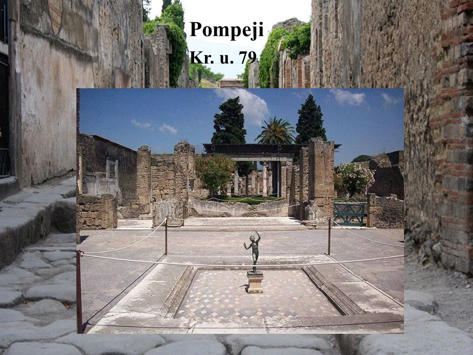 Pompeji Kr. u. 79