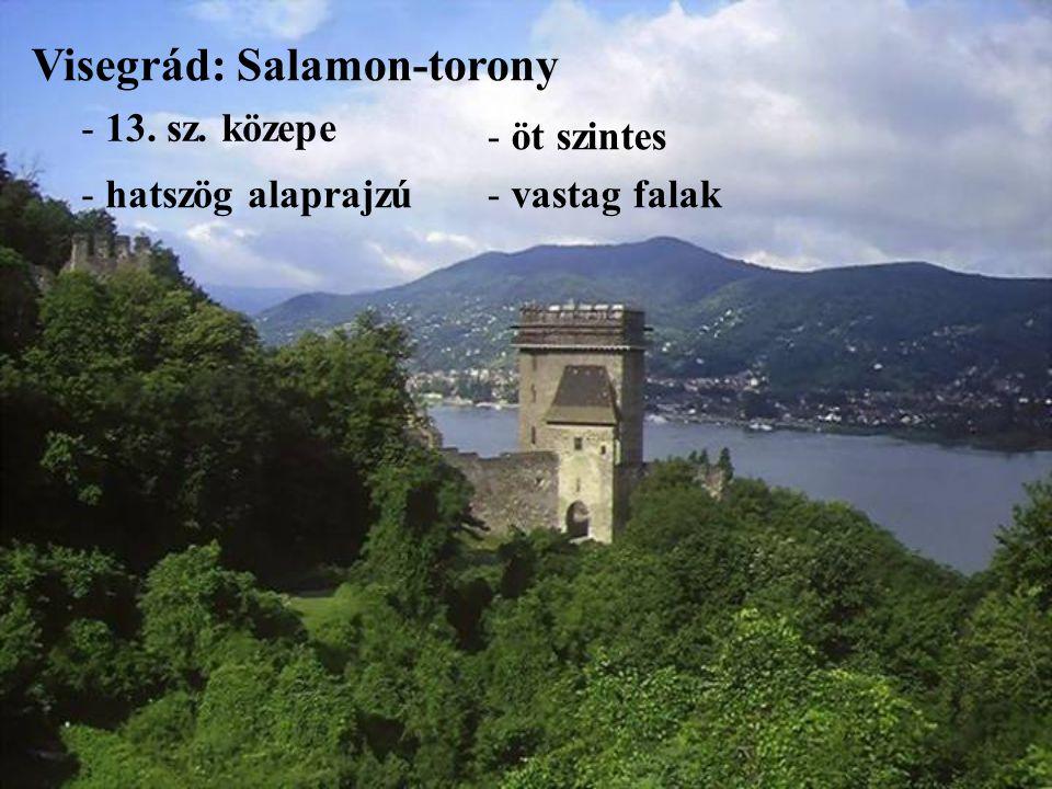 Visegrád: Salamon-torony