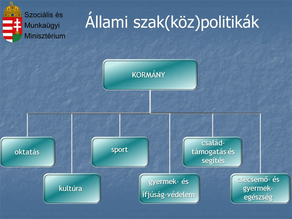 Állami szak(köz)politikák