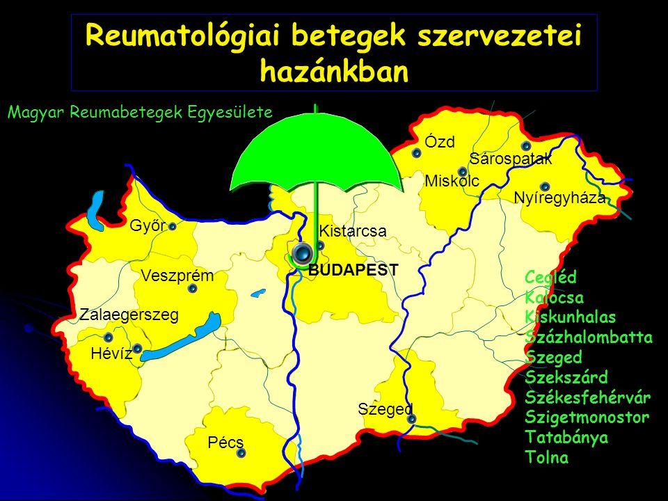 Reumatológiai betegek szervezetei hazánkban