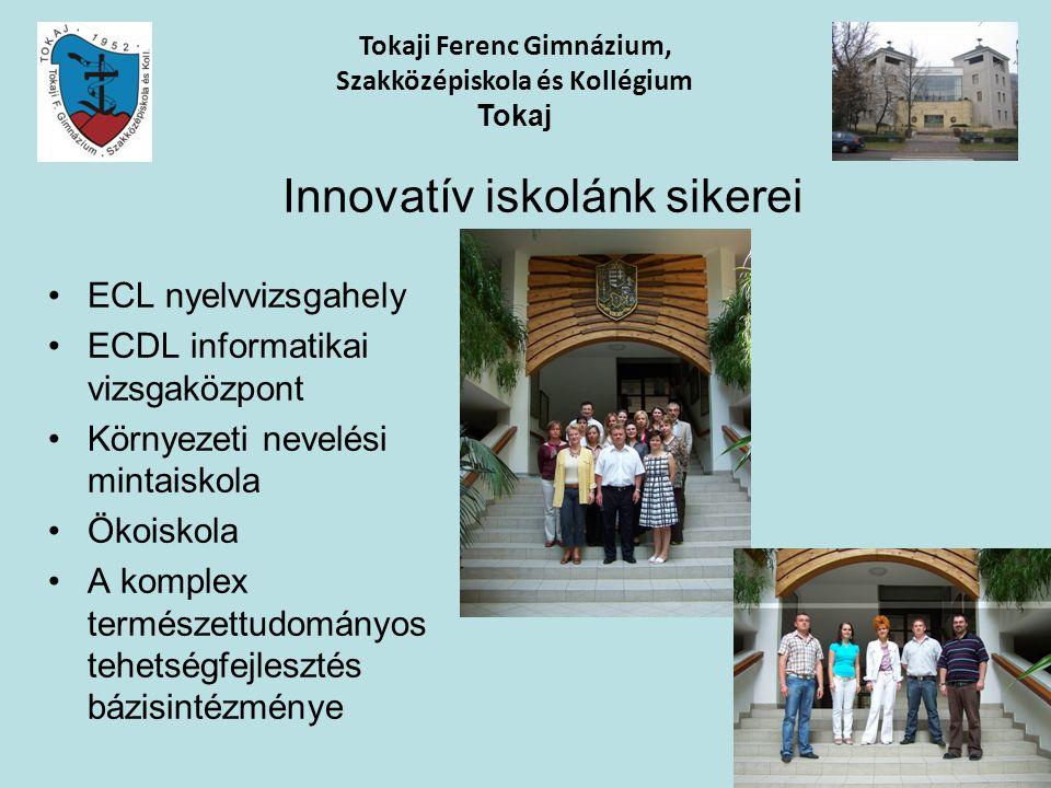 Innovatív iskolánk sikerei