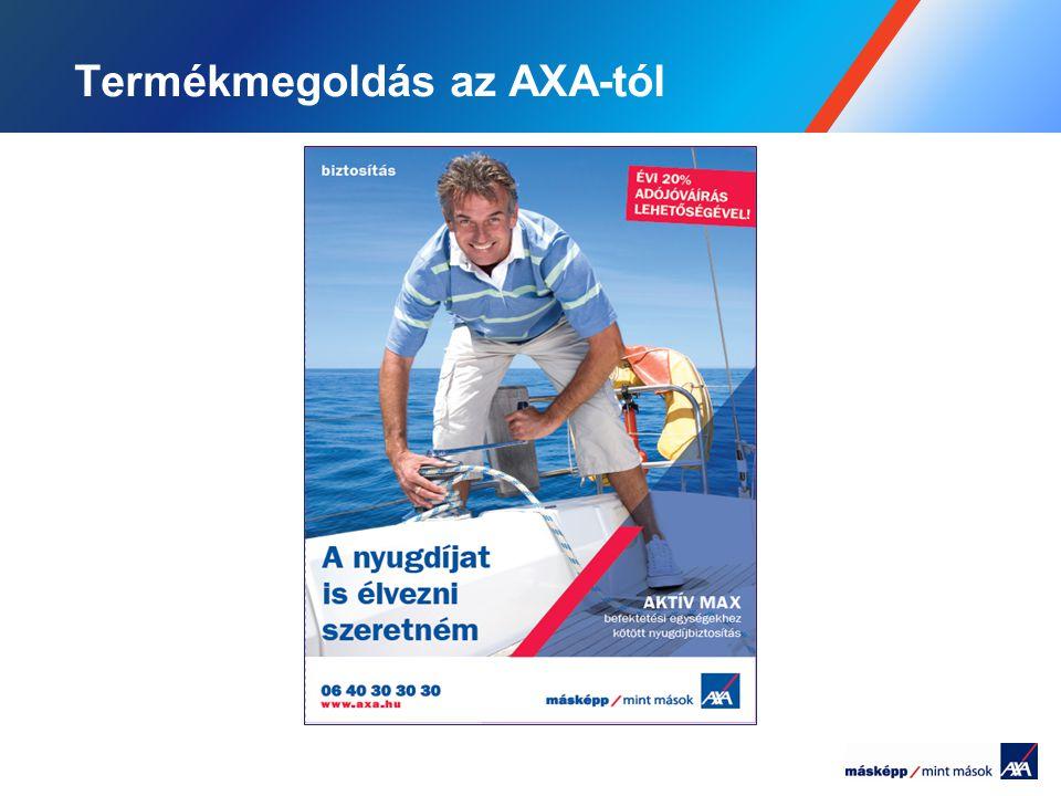 Termékmegoldás az AXA-tól