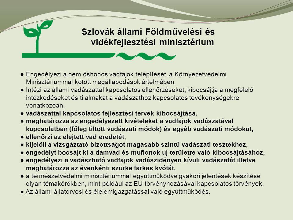 Szlovák állami Földművelési és vidékfejlesztési minisztérium