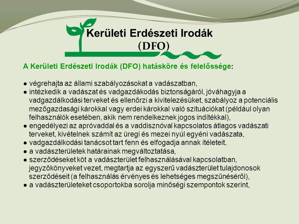 Kerületi Erdészeti Irodák (DFO)