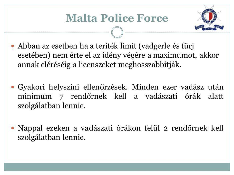 Malta Police Force