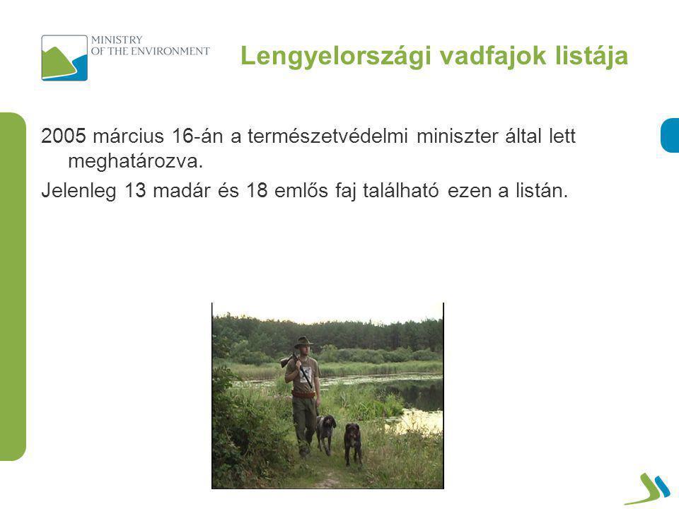 Lengyelországi vadfajok listája