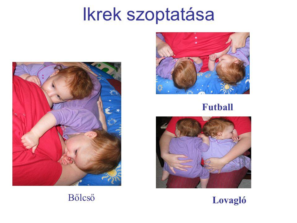 Ikrek szoptatása Futball Bőlcső Lovagló