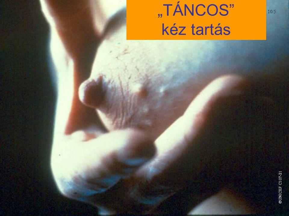 """""""TÁNCOS kéz tartás 10/5 ©UNICEF C107-21"""