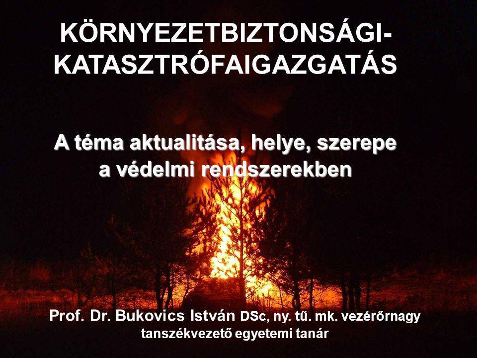 KÖRNYEZETBIZTONSÁGI-KATASZTRÓFAIGAZGATÁS