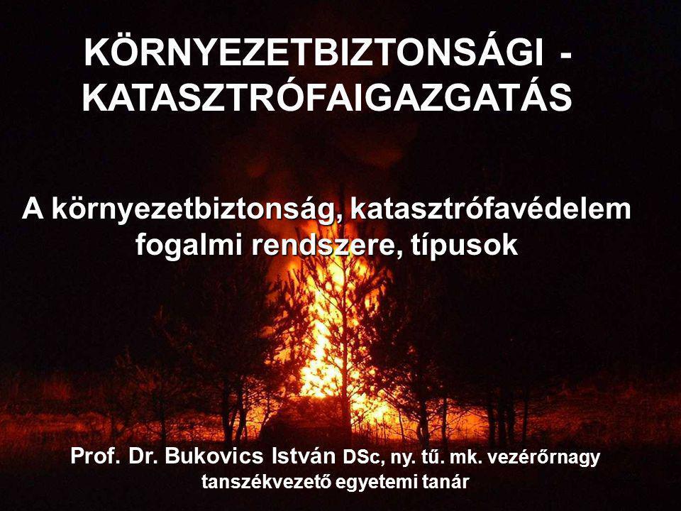 KÖRNYEZETBIZTONSÁGI -KATASZTRÓFAIGAZGATÁS