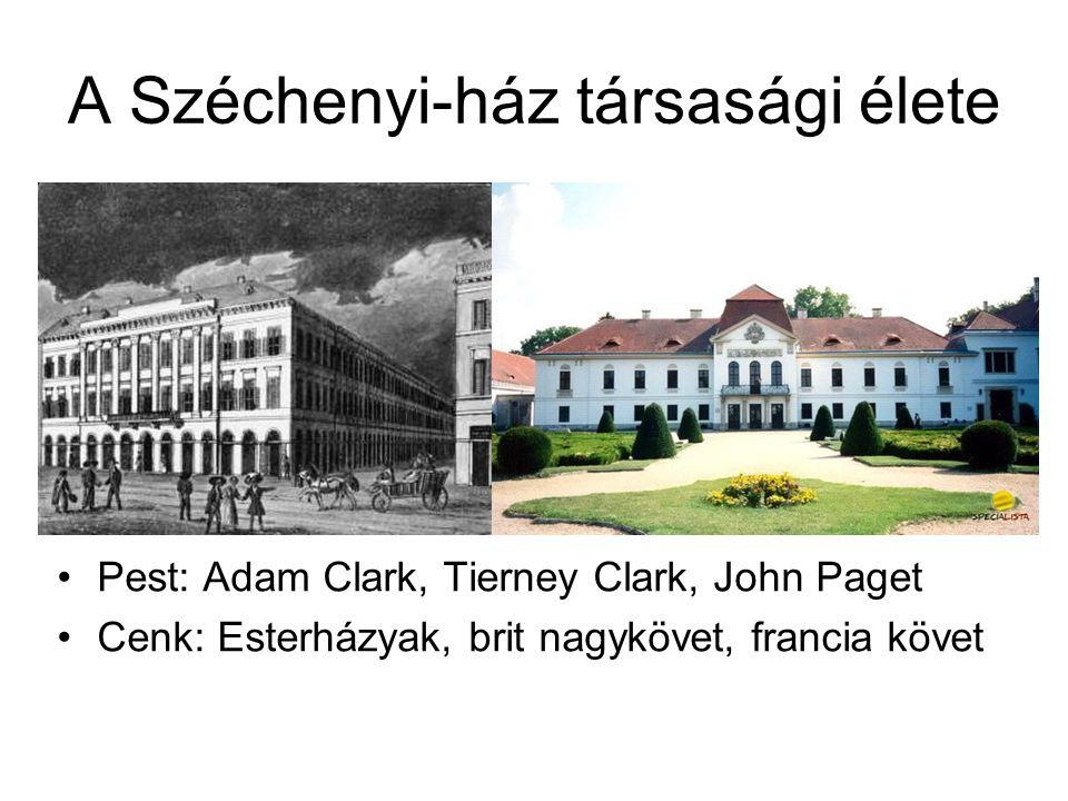 A Széchenyi-ház társasági élete