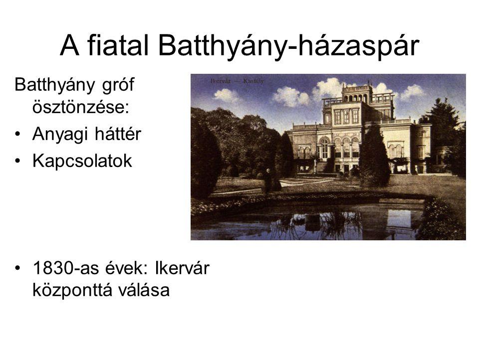 A fiatal Batthyány-házaspár