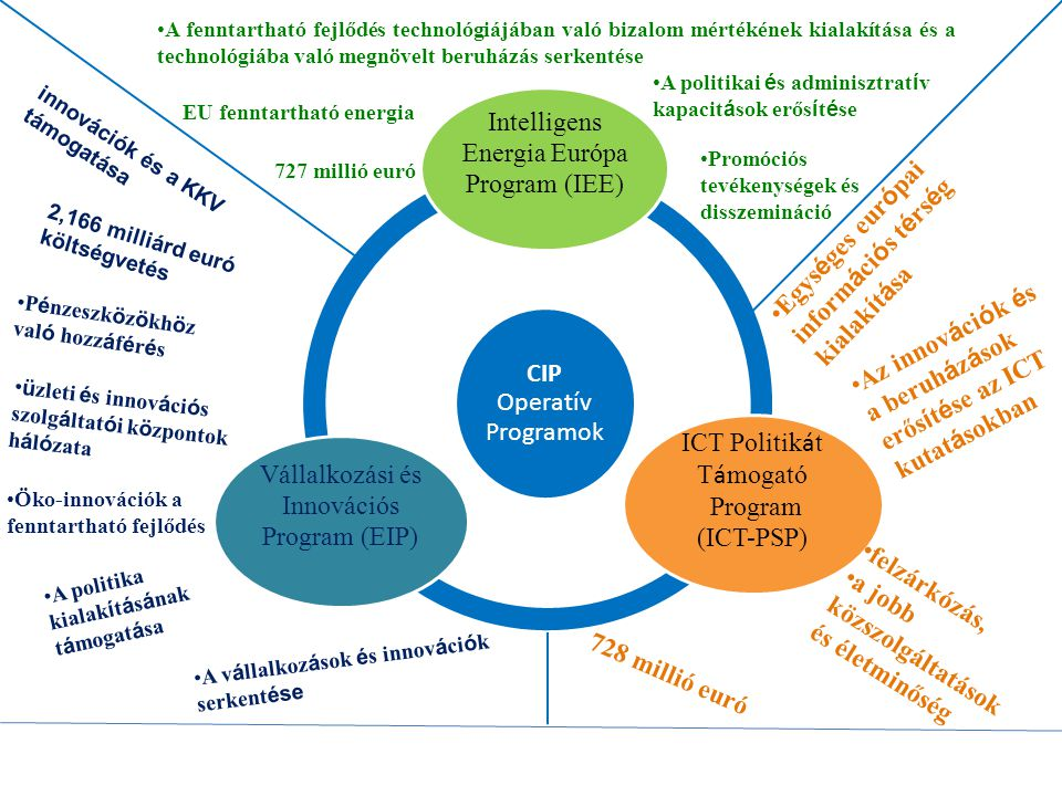 Intelligens Energia Európa Program (IEE) ICT Politikát Támogató