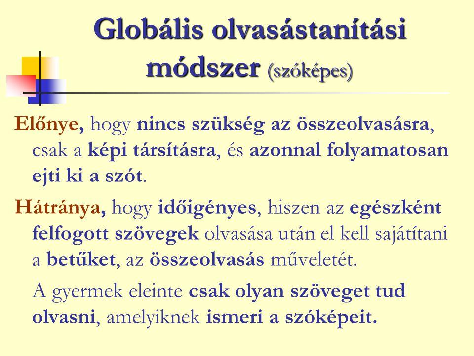 Globális olvasástanítási módszer (szóképes)