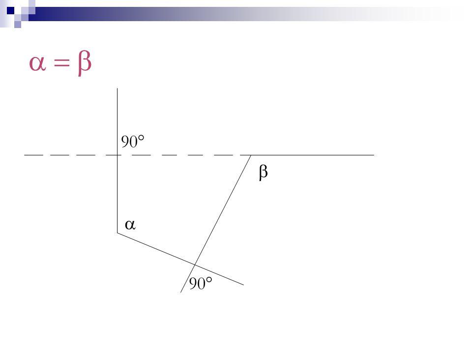 a = b 90° b a 90°