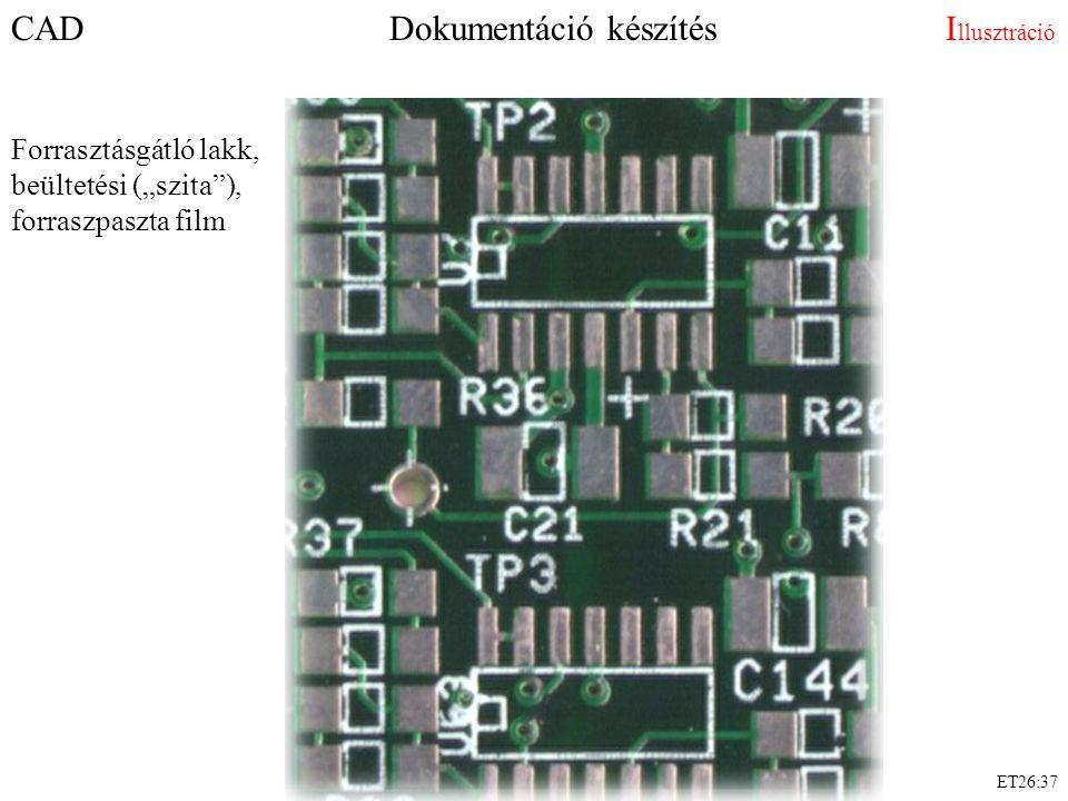 CAD Dokumentáció készítés Illusztráció