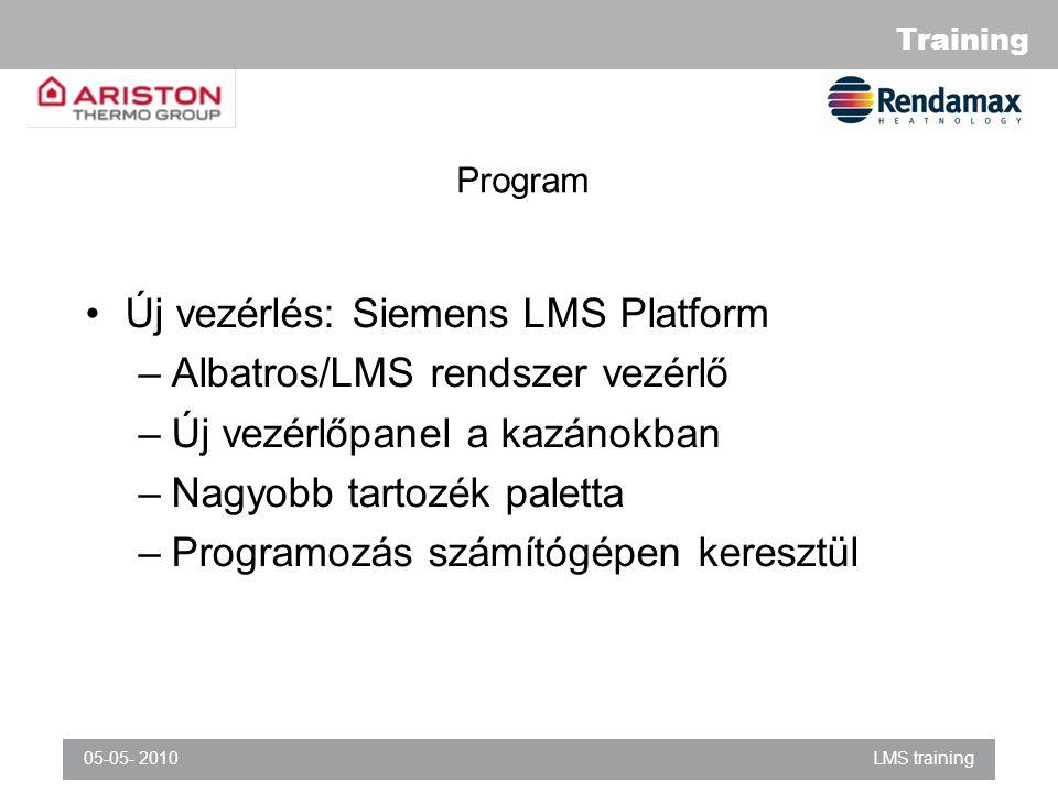 Új vezérlés: Siemens LMS Platform Albatros/LMS rendszer vezérlő