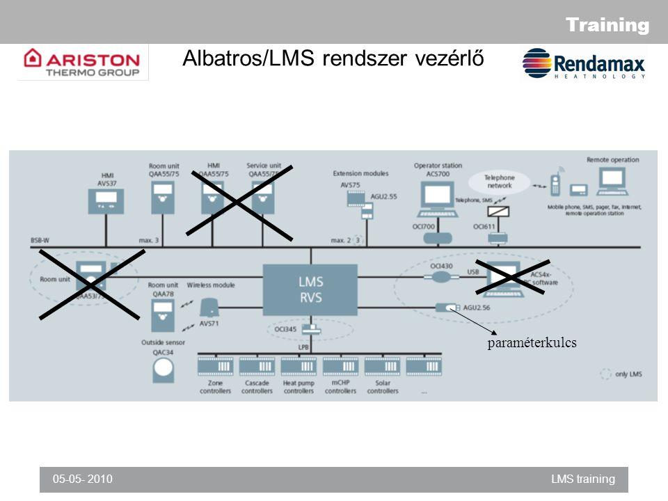 Albatros/LMS rendszer vezérlő
