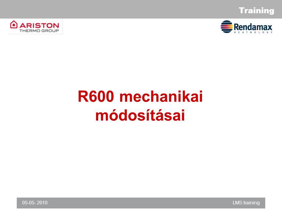 R600 mechanikai módosításai